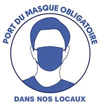 masque obligatoire dans nos locaux